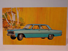 New Old Stock 1966 Chevrolet Nova Dealers Promo Post Card Unused Litho in USA