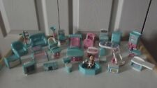 Vintage Doll House Furniture Bedroom Kitchen Nursery Bathroom + Baby & More