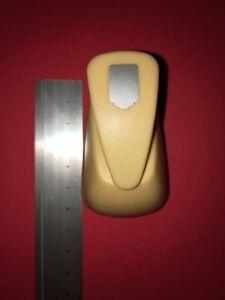 Sescha Motivlocher//Papierstanzer Etikett von EFCO Gr/ö/ße 3XL 68x45mm