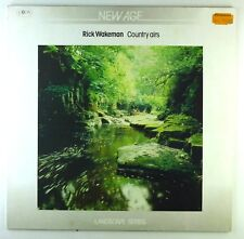 """12"""" LP - Rick Wakeman - Country Airs - E141 - cleaned"""