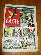 EAGLE #7 VOL 2 25TH MAY 1951 BRITISH WEEKLY DAN DARE SPACE ADVENTURES