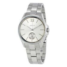 DKNY Eldridge Grey Sunray Dial Ladies Watch NY2516
