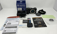 Sony Alpha a6100 24.2MP Mirrorless Camera - Black (Body Only) + Extras