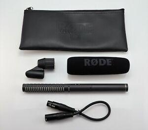 RODE NTG-2 SHOTGUN XLR CONDENSER MICROPHONE NTG2 PRO AUDIO MIC & XLR CABLES