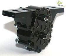 Thicon Models 1:14 Verteilergetriebe 2:1 hoch Alu schwarz - 50053