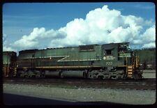 Original Rail Slide - BCOL British Columbia Railway 722 Prince George BC 9-1983