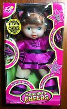 """Munchkin Cheers 12"""" Electronic Talking Cheerleader Doll 20241B"""