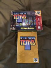 The New TETRIS (Nintendo 64 1999) BOX AND MANUAL ONLY