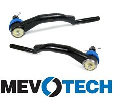 Buick Chevy GMC Isuzu Saab Set Pair of Olds Front Outer Tie Rod Ends Mevotech