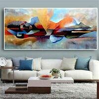 Wall Art Abstract Oil Painting Canvas Religious Poster Cuadros Living Room Decor