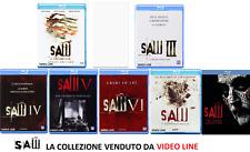 Blu Ray Saw - La Collezione 01-03-04-05.06.07-08 - (7 Film Blu Ray) .......NUOVO