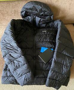 Arc'teryx Cerium SV Hooded 850 Fill Down Jacket / Mens Medium / Black / NWT