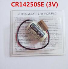 1PC Original Sanyo CR14250SE 1/2AA 3V PLC Battery w/connector PLC backup power