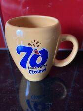 tasse  Cecemel  chocolat au lait 70 ans anniversaire Neuve No Senseo