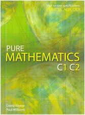 Pure Mathematics C1 C2 by David Rayner, Paul Williams, NEW Book, (Paperback) FRE