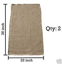 2 22x36 Burlap Bags, Burlap Sacks, Potato Sack Race Bags, Sandbags, Gunny Sack