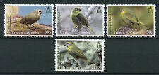 Tristan da Cunha 2014 MNH Finches Gough Nightingale Finch 4v Set Birds Stamps