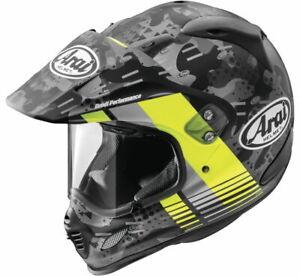 Arai XD4 Cover Yellow Dual Sport Motorcycle Helmet (XS-2XL)