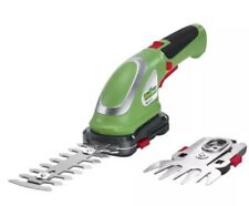 FLORABEST 2-IN-1 CORDLESS GRASS & SHRUB TRIMMER LI-lON TECHNOLOGY 3.6 V 1300mAh