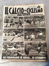 IL CALCIO E IL CICLISMO  ILLUSTRATO 1963 N°37 Nielsen,Lojacono,Angelillo   23/6