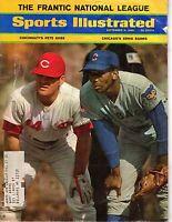 1969 9/8 Sports Illustrated magazine baseball Ernie Banks Cubs Pete Rose - Fair
