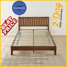 Full Size Bed 1.5-Inch Heavy Duty Mattress Support Wooden Bunkie Board