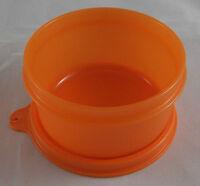 Tupperware B 15 Julchen 200 ml Dose Behälter Box mit Deckel Orange Neu