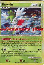 SHAYMIN - RARA HOLO FOIL 8/95 - FORZE SCATENATE - POKEMON - ITALIANO