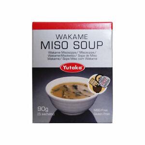 YUTAKA WAKAME MISO SOUP - 90G