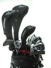 AGXGOLF MENS LEFT HAND MAGNUM COMPLETE GOLF CLUB SET wDRIVER+BAG+HYBRID+PUTTERS