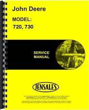 John Deere Tractor Service Manual (720 Tractor (Diesel)   730 Tractor)