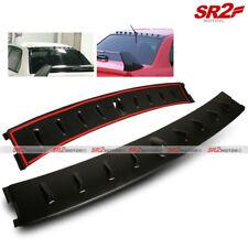 Vortex Shark Fin Roof Spoiler Wing Glossy Black fits 02-07 Mitsubishi EVO 7 8 9