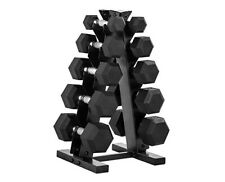 XPRT Fitness 5, 10, 15, 20, OR 25 LB DUMBBELLS / WEIGHTS OR STORAGE RACK
