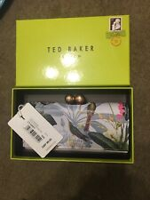Genuine Ted Baker Crystal Bobble Black Leather Matinee Purse