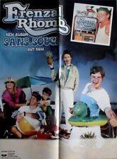 FRENZAL RHOMB - 2003 - Tourplakat - Concert - Sans Souci - Tourposter