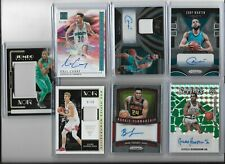 BASKETBALL 7 CARD LOT AUTO JERSEY #ED ROOKIE REFRACTOR