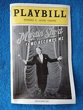 Fame Becomes Me - Bernard B. Jacobs Playbill w/Ticket - October 31st, 2006
