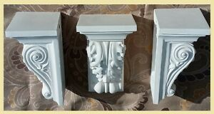 1 Victorian Acanthus Leaf Handmade Corbels  IN & OUTDOOR,SOLID & STRONG ,