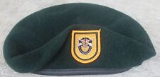 Authentic New US Army 1st Special Forces Group Green Beret, US Government Issue
