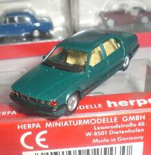 HERPA 025430 FANTASTIQUE MINIATURE BMW 740 iL LIMOUSINE SCALE 1:87 HO OCCASION
