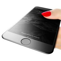New BLACK 3D Curved Full Cover Tempered Glass Screen Protector For iPhone 6 / 6s