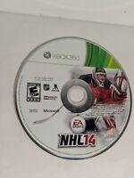 NHL 14 (Microsoft Xbox 360, 2013) DISC ONLY