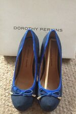 Dorothy Perkins Navy and Blue shoes