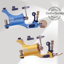 Pro 2Pcs Alu Alloy Rotary Tattoo Machine Guns Liner Shader free tool kit