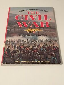 """CIVIL WAR  For Younger readers    """"THE GOLDEN BOOK OF THE CIVIL WAR""""  1961 ed"""