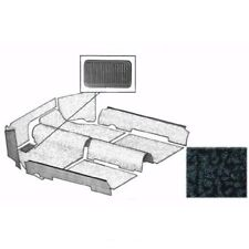 VW MAGGIOLONE BEETLE 1303 MOQUETTE COMPLETA NERA CARPET KIT BLACK TMI