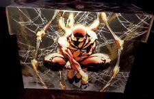 Neca Civil War Captain America Spider Man Marvel Short Cardboard Comic Book Box