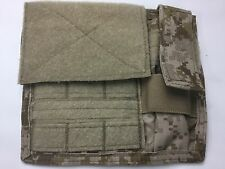 AOR1 EAGLE INDUSTRIES ADMIN POUCH W/ FLASHLIGHT HOLDER V.2 LOOP FRONT NAVY SEAL