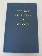 One Day at a Time in Al-Anon 1982 HB Book New Never Used Blue
