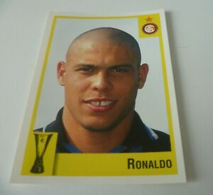 Panini Calcio Coppe sticker 1997/8 RONALDO Brazil Inter Number 110 RARE